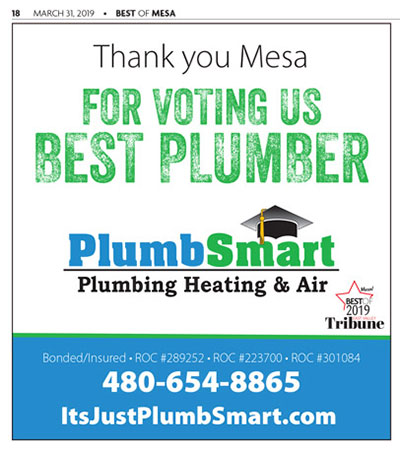 Best Plumber in the East Valley